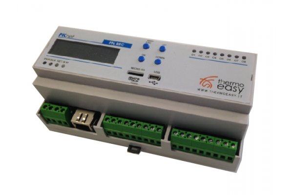 Smart home controllo domotico e risparmio energetico for Centralina domotica