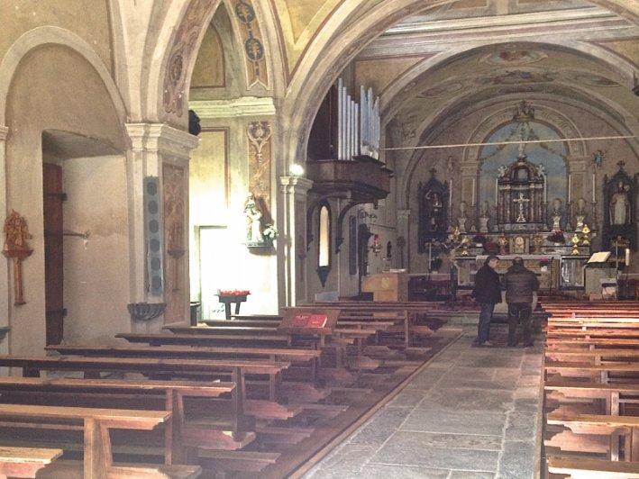 riscaldamento chiesa